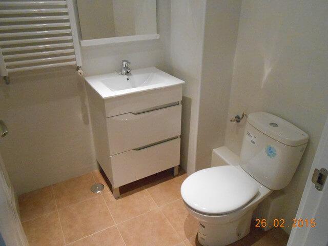remodelacion de baños pequeños antes y despues